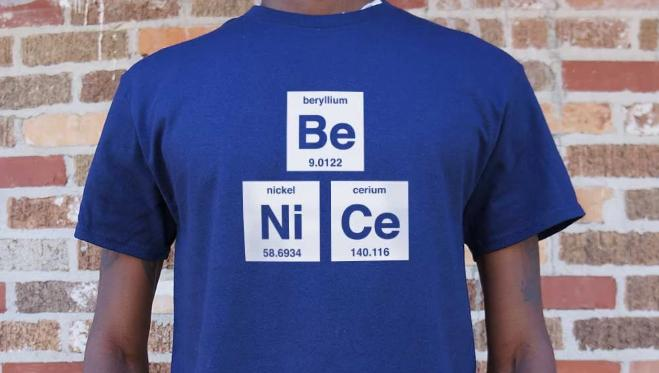 Be Nice T-Shirt  #peace #peacewords #nice