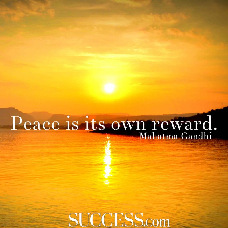 Peace reward #peace #peacewords