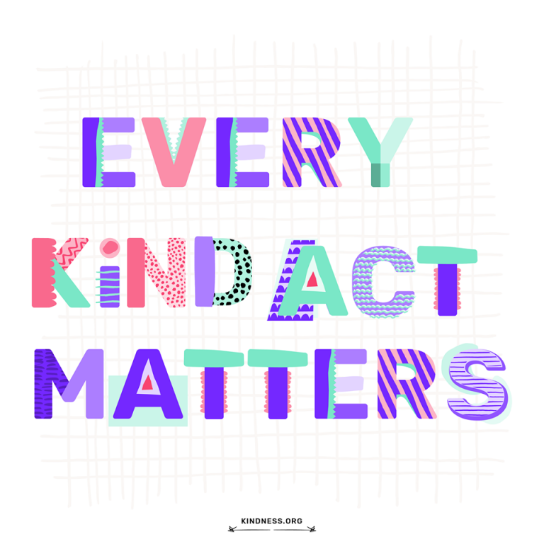 Kindness.org | How Will You Impact Someone's Life Today? #kindness #peace #peacewords
