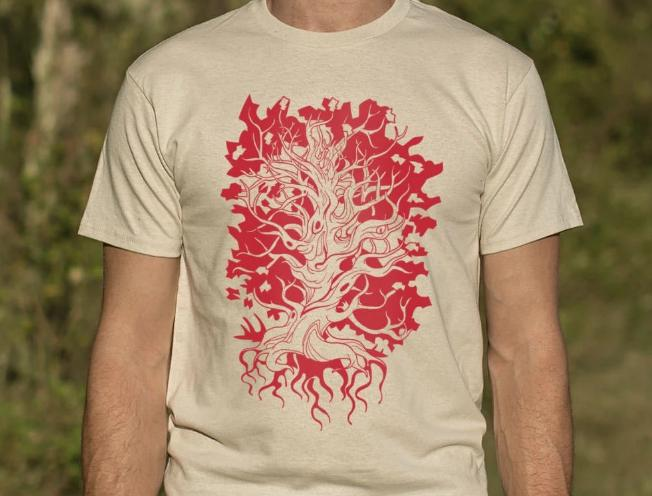 Tree Of Life T-Shirt #peace #peacewords