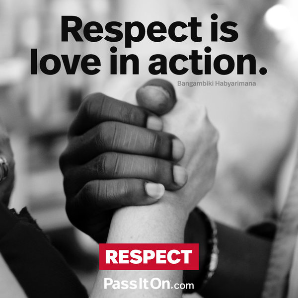 Respect = Love #peace #peacewords #thankyouthursday