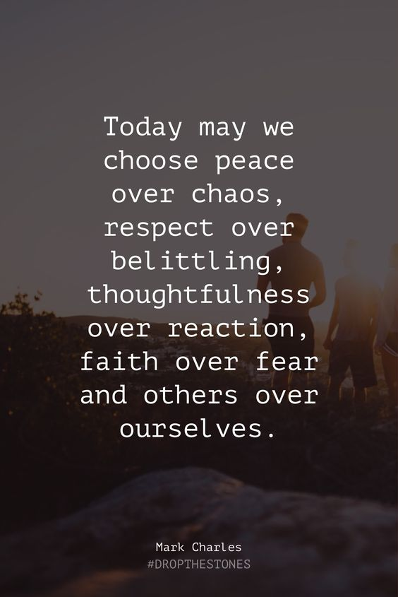 Choose Peace Today