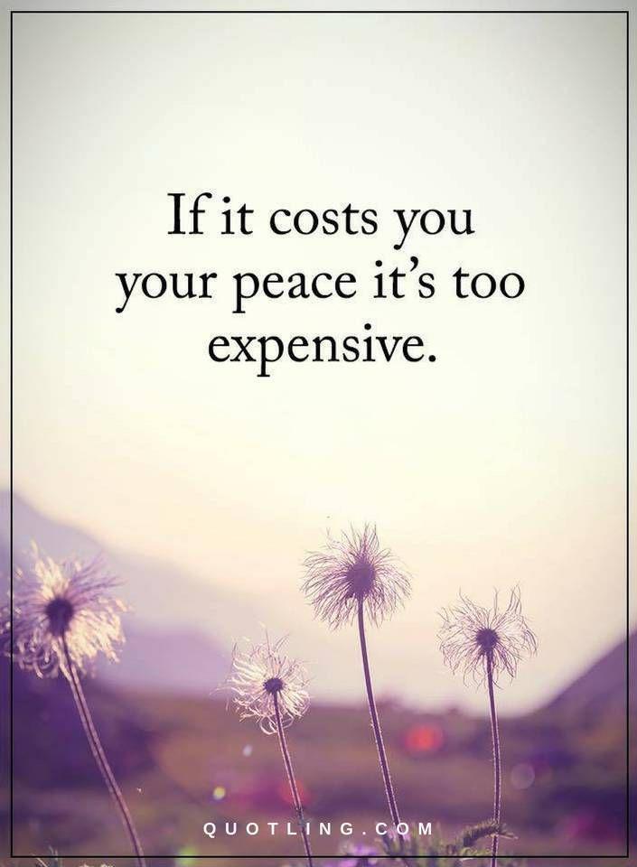 Price of Peace  #peace #peacewords