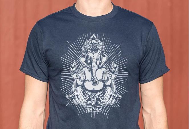 Ganesh Deity T-Shirt  #peace #peacwords
