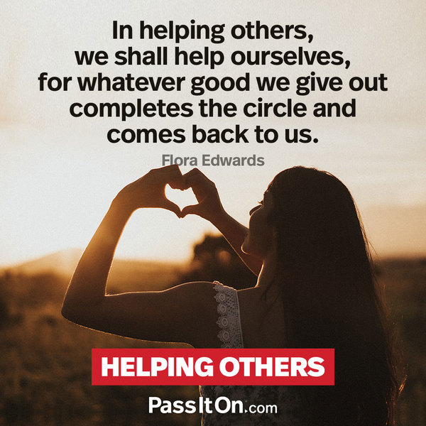 Help others… #peace #peacewords #service