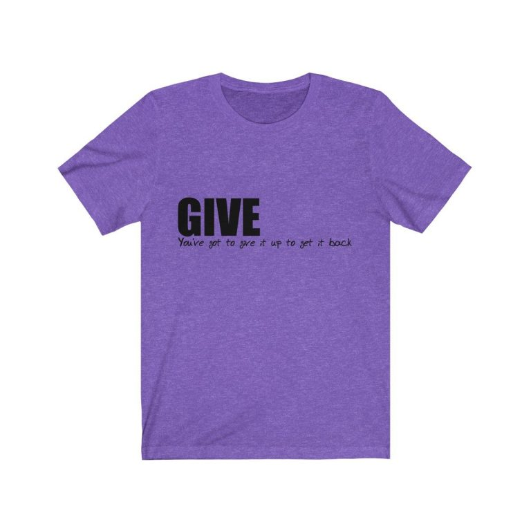 Give It Up To Get It Back #give #peacewords