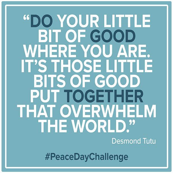 Peace Day Challenge #peace #peacewords #peacedaychallenge