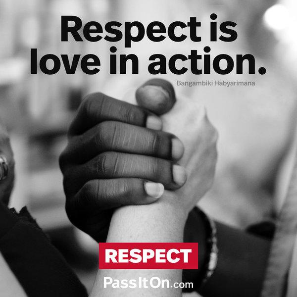 Respect = Love #peace #peacewords #thankyouthursday