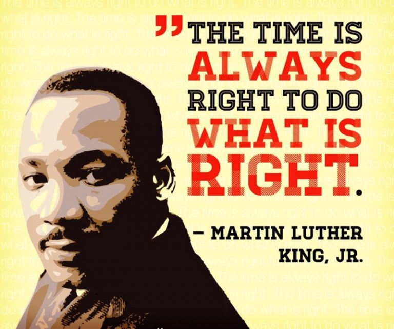 The Time Is Always Right…