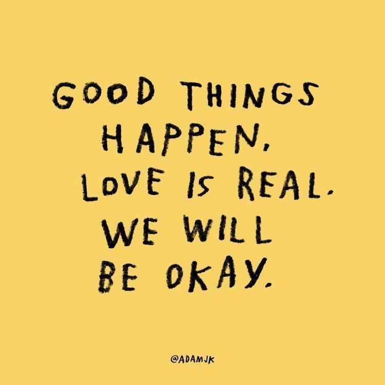 Good Things…